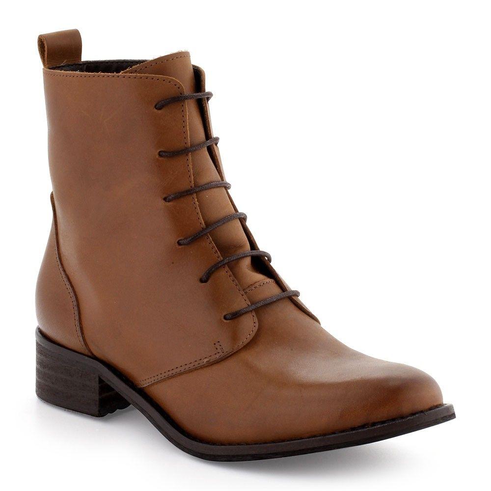BootsBottines Di Fontana | Bottines cuir marron, Bottines