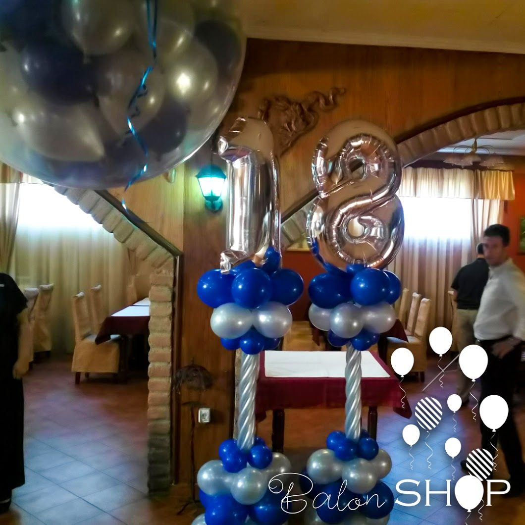 dekoracije za 18 ti rodjendan Dekoracije za 18 ti rođendan 👉 http://.balon shop.com/baloni  dekoracije za 18 ti rodjendan