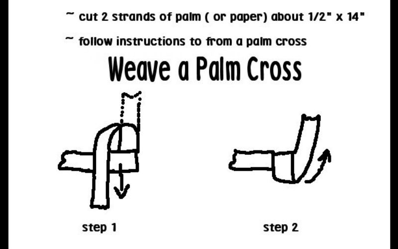 How to make a cross out of your palm in 6 easy steps