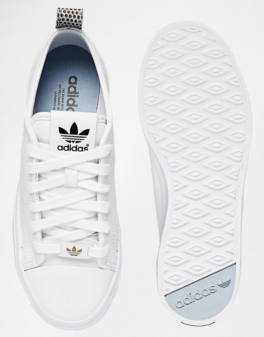 adidas | adidas Originals \u2013 Honey 2.0 \u2013 Wei�e Turnschuhe bei ASOS