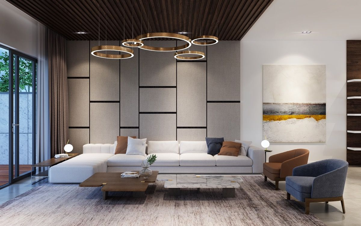 10 Modern Living Rooms That Act As Your Home's Centrepiece ...