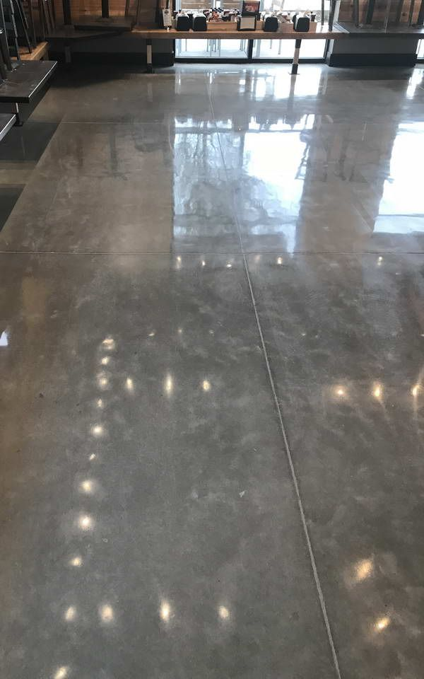 Polished Concrete Commercial Restaurant Polished Concrete Concrete Concrete Floors