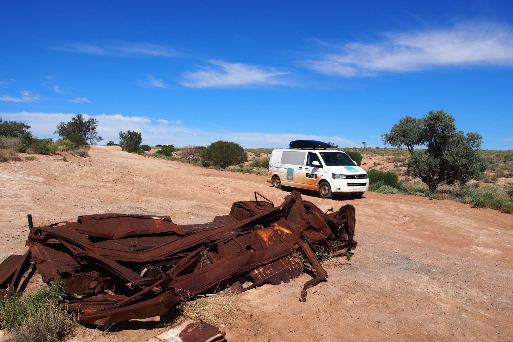 På 4hjul i bushen - ABAX