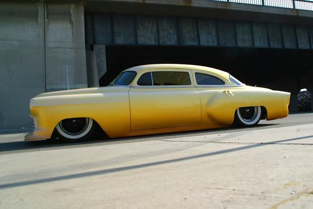 54 Chevy built on Monster Garage by some of the greatest Legends in Kustomizing!