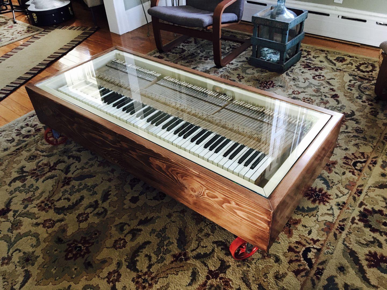Piano Coffee Table Piano Decor Piano Crafts