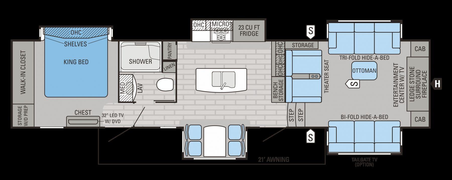 5th wheel master bedroom  Jayco Pinnacle th Wheel Floor Plans  viajesairmar