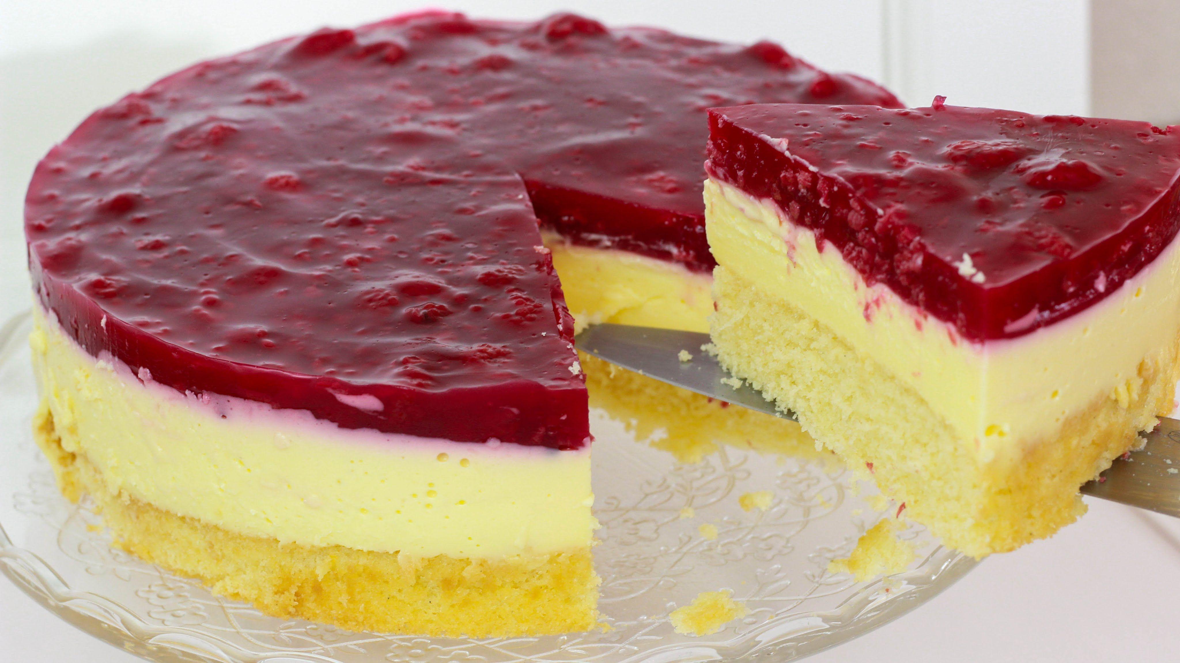 Himbeer Schmand Kuchen Schmandkuchen mit Himbeeren Schmand Torte