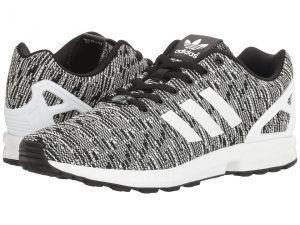 48dd255cf adidas Originals ZX Flux Graphic (Black Running White Vivid Blue) Men s  Running. Men Running ShoesMens ...