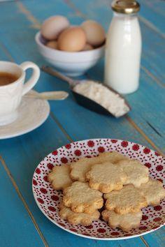 Cinco Quartos de Laranja: Bolachinhas de manteiga
