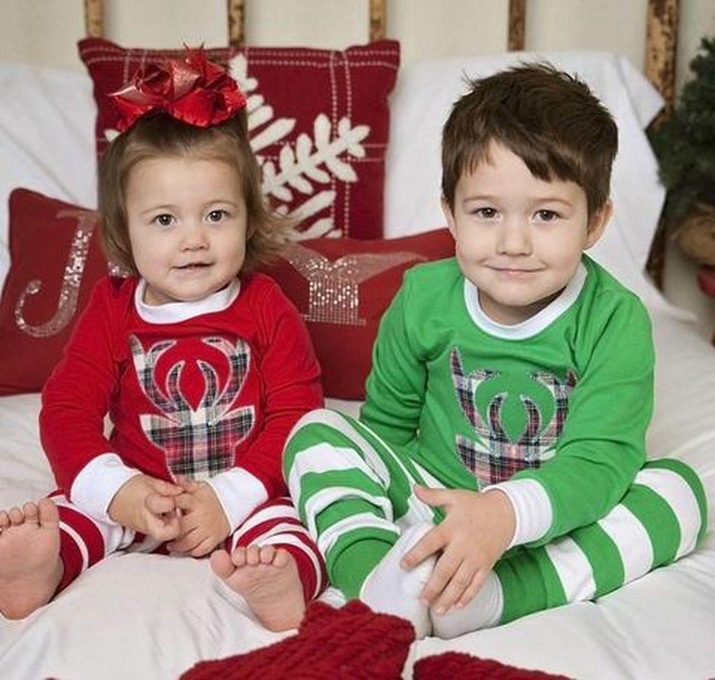 50 Cute Kids Christmas Pajamas Ideas to Show Your Holiday Mood ...