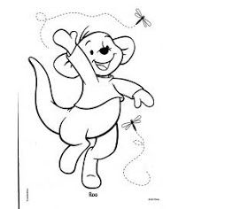 Walt Disney Roo from Winnie the Pooh Coloring Pages ...