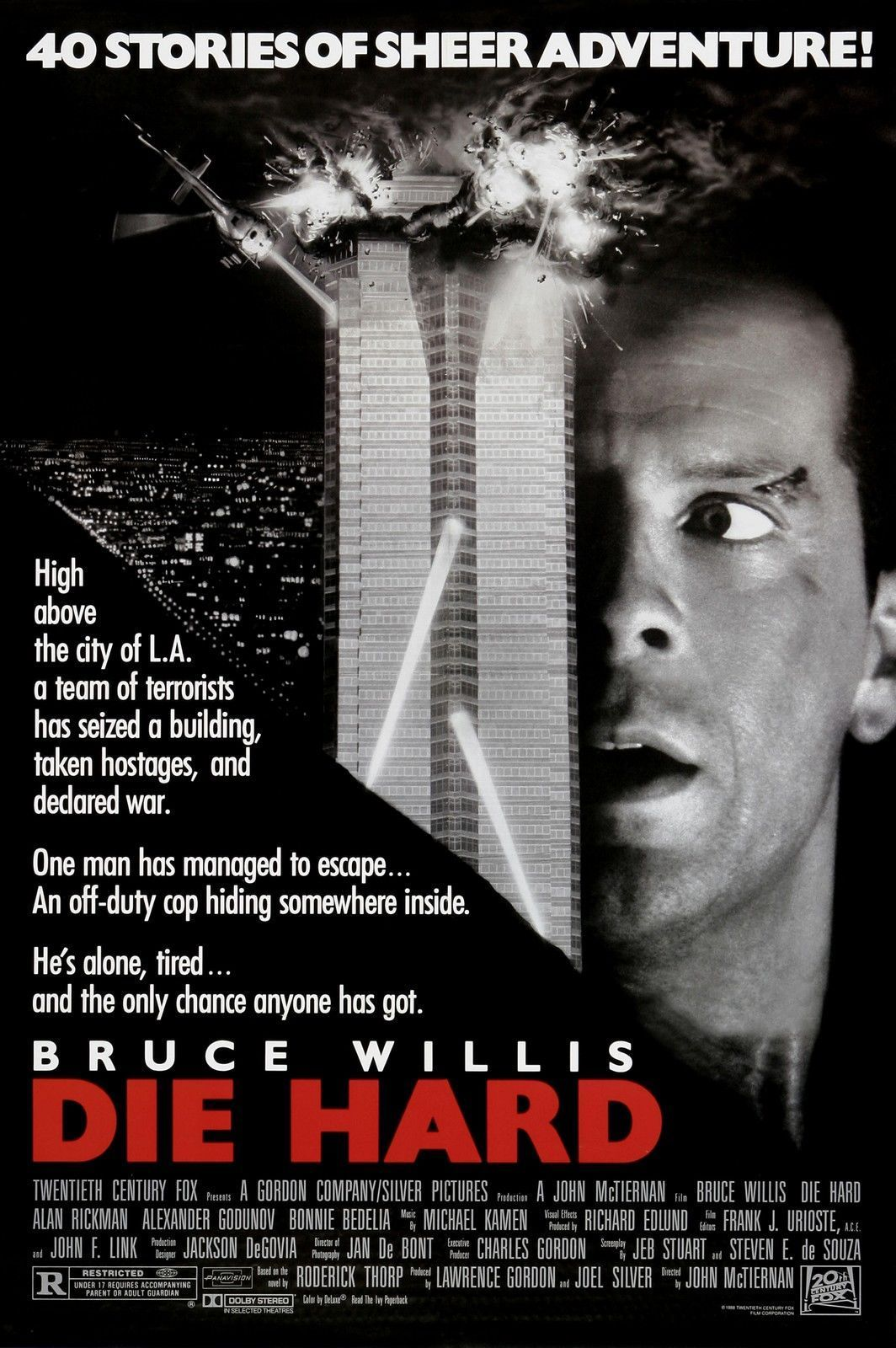 Click Imageto Buy It Now Die Hard Movie Poster Rare Bruce Willis 24x36 When Choosing One Of Our Amazing Poste Hard Movie Classic 80s Movies 80s Movie Posters