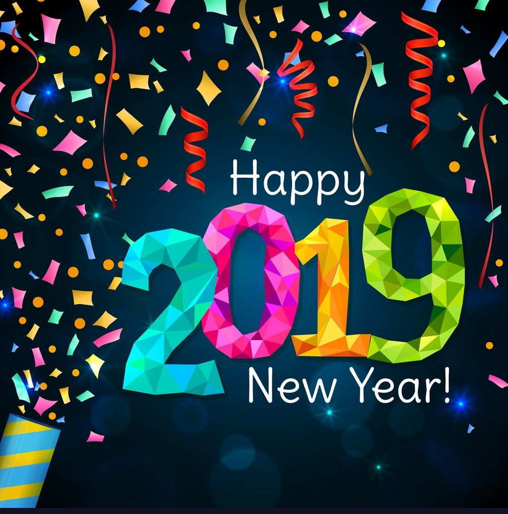 Happy New Year 2019 Wishes For Whats App And Facebook Happy New Year Greetings New Year Wishes New Year Images