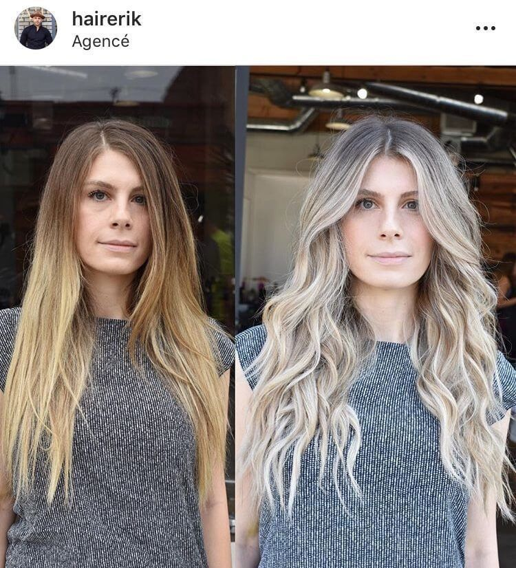 Olaplex Blonde Platinum Before After Icy Blonde Ice Queen Blonde Bombshell White Blonde Hair Cool Blonde Hair Platinum Blonde Hair