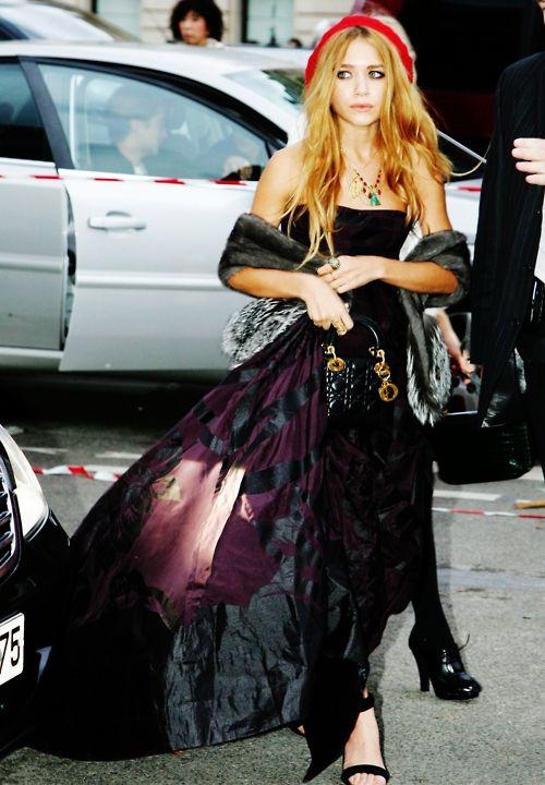 Mary-Kate Olsen in Christian Dior, Paris fashion week 2006