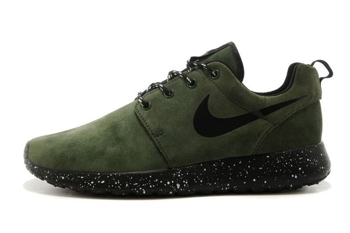 d355c28b1536 ... sale cheap cheap nike roshe one for man shoes black olive green fur and mens  nike