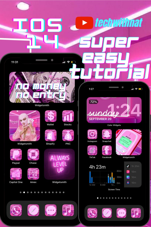 Ios 14 Home Screen Ideas In 2020 Homescreen Iphone Homescreen Ios App Iphone