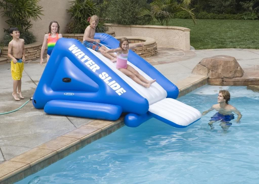 Inflatable Pool Slide Intex intex 58851 1 | bể bơi phao | pinterest