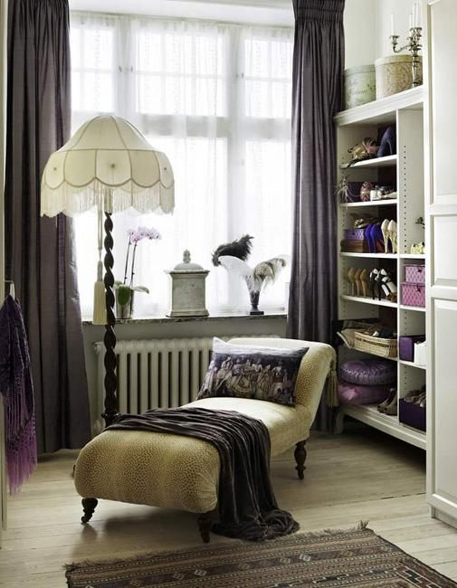 prodigious Dressing Room Decoration Ideas Part - 3: Vintage Dressing Room | Dressing room decorating with vintage furniture and  decor accessories .
