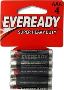Eveready Brand Batteries At Www Batteriesandbutter Com 1212 4aaa Super Heavy Duty Batteries Aaa Battery 4 Pack Lithium Battery Aaa Batteries Energizer