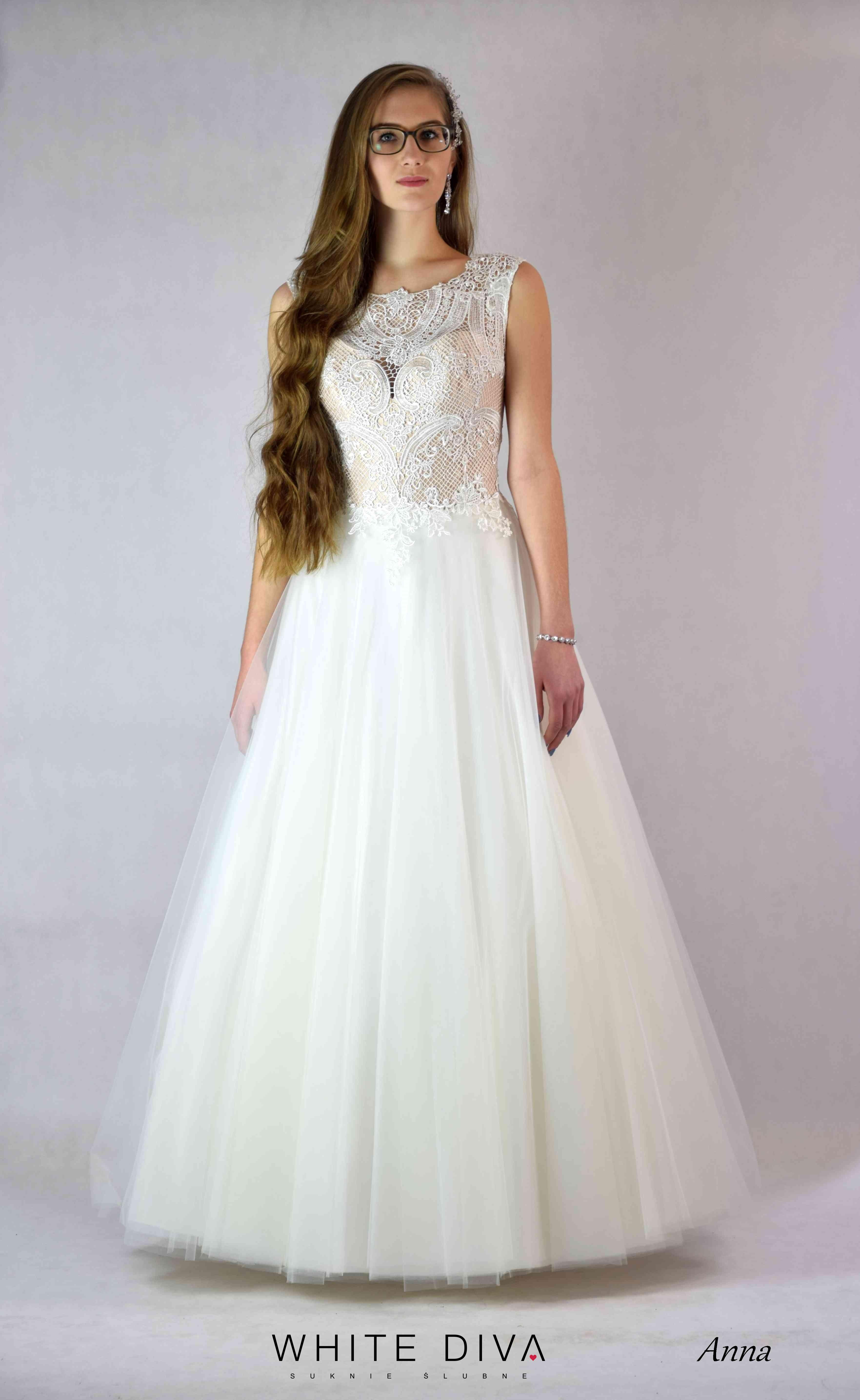 bridal dress Anna from White Diva   suknie   Pinterest   Diva and ...