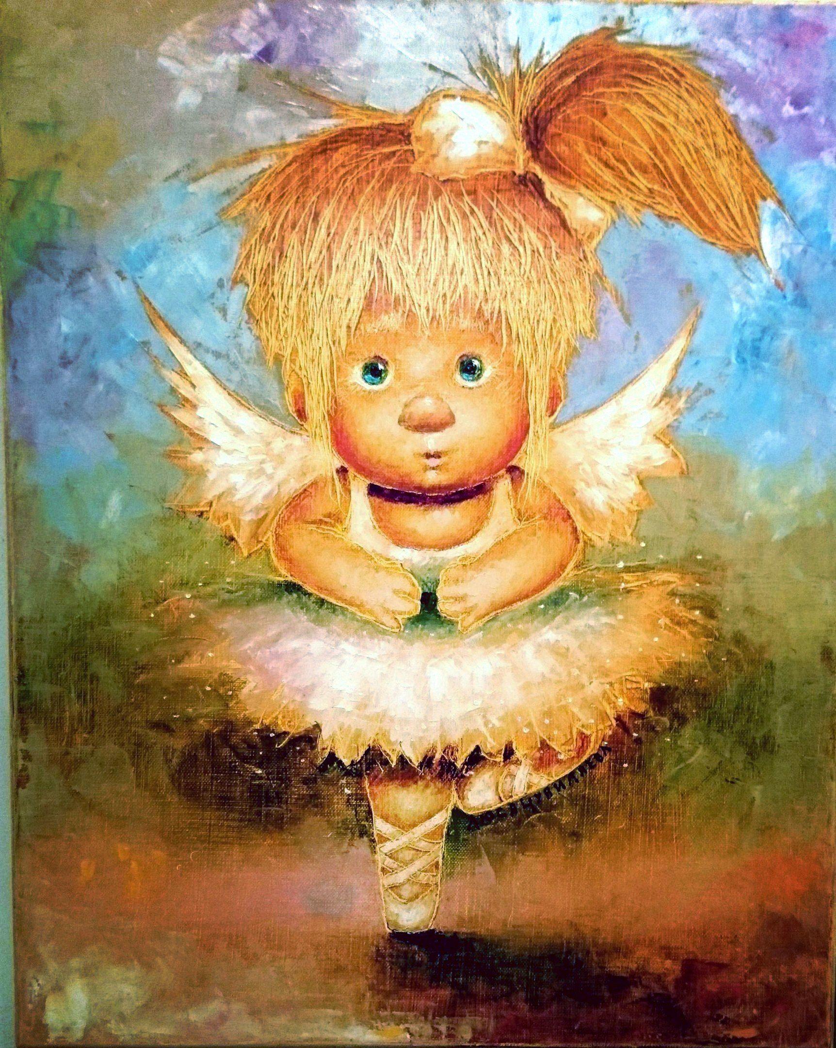 забавные картинки с ангелом