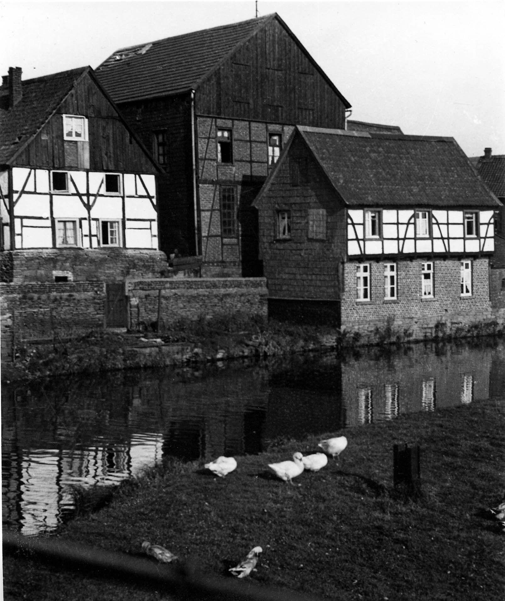 Mühlengraben, Herdecke, Westfalen, 30er Jahre