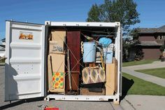 Packing Tips For Portable Storage Containers Everythingmom Moving Containers Pods Moving Moving Storage Containers