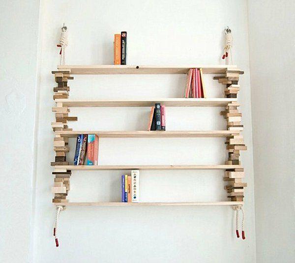 interessantes-diy-modell-bücherregal- schönes foto Anziehsachen - küchenschrank selber bauen