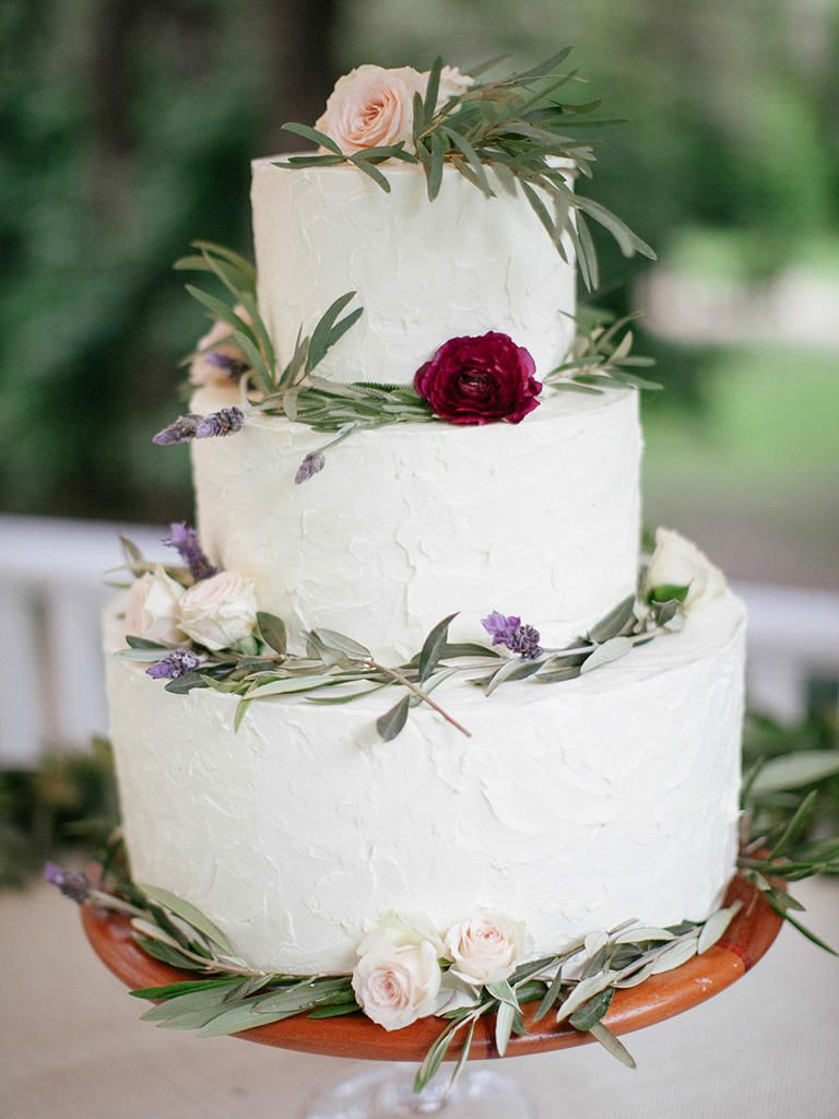 25 Gorgeous Flower-Covered Wedding Cake Ideas | Pinterest | Wedding ...
