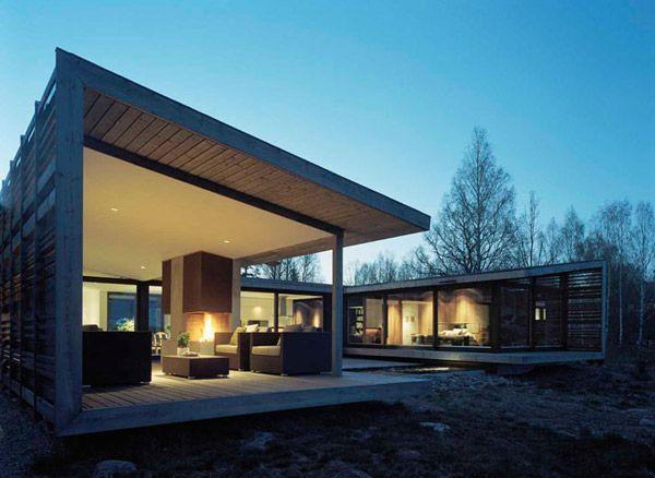 Landhaus modern fassade  moderne Villa Schweden Fassade | Architektur | Pinterest | Moderne ...