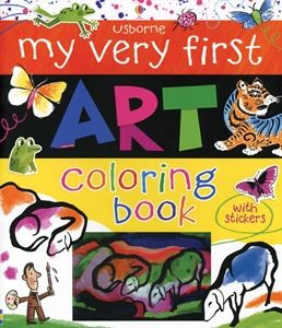 My Very First Art Coloring Book introduces fifteen famous works of art - each followed by space to color, doodle or sticker your own version!