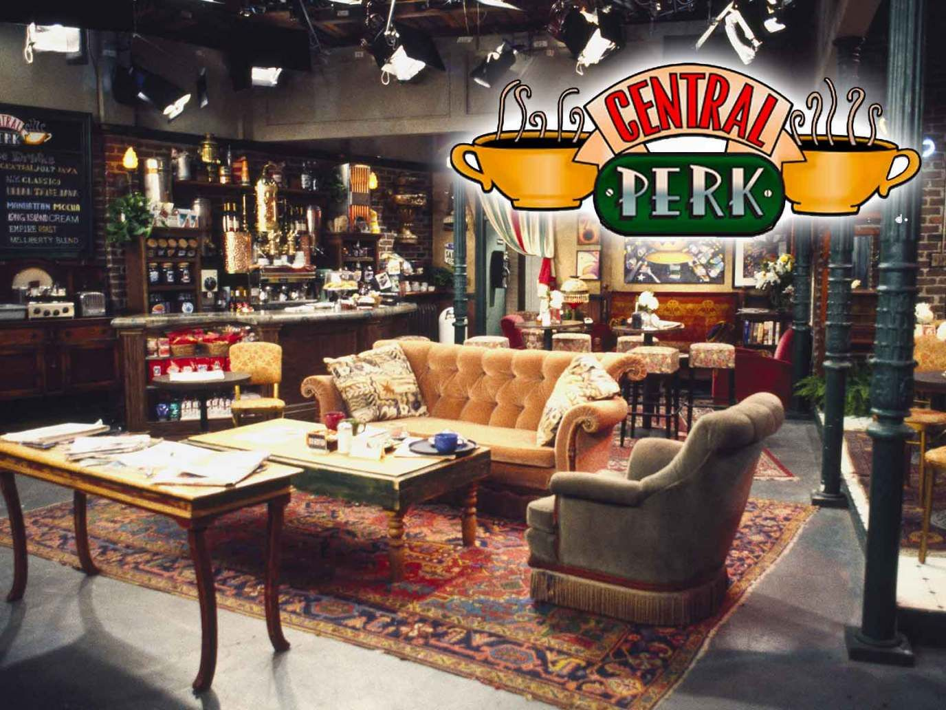 Central Perk Coffee S Are One Step