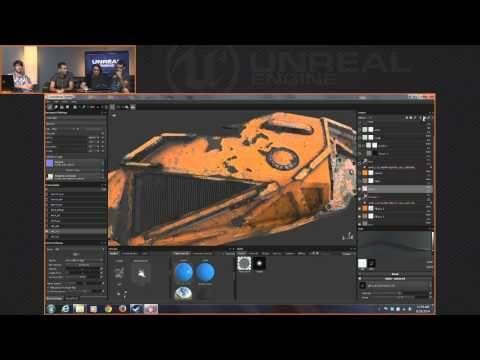 Unreal Engine 4 Twitch Broadcast - Allegorithmic Substance UE4