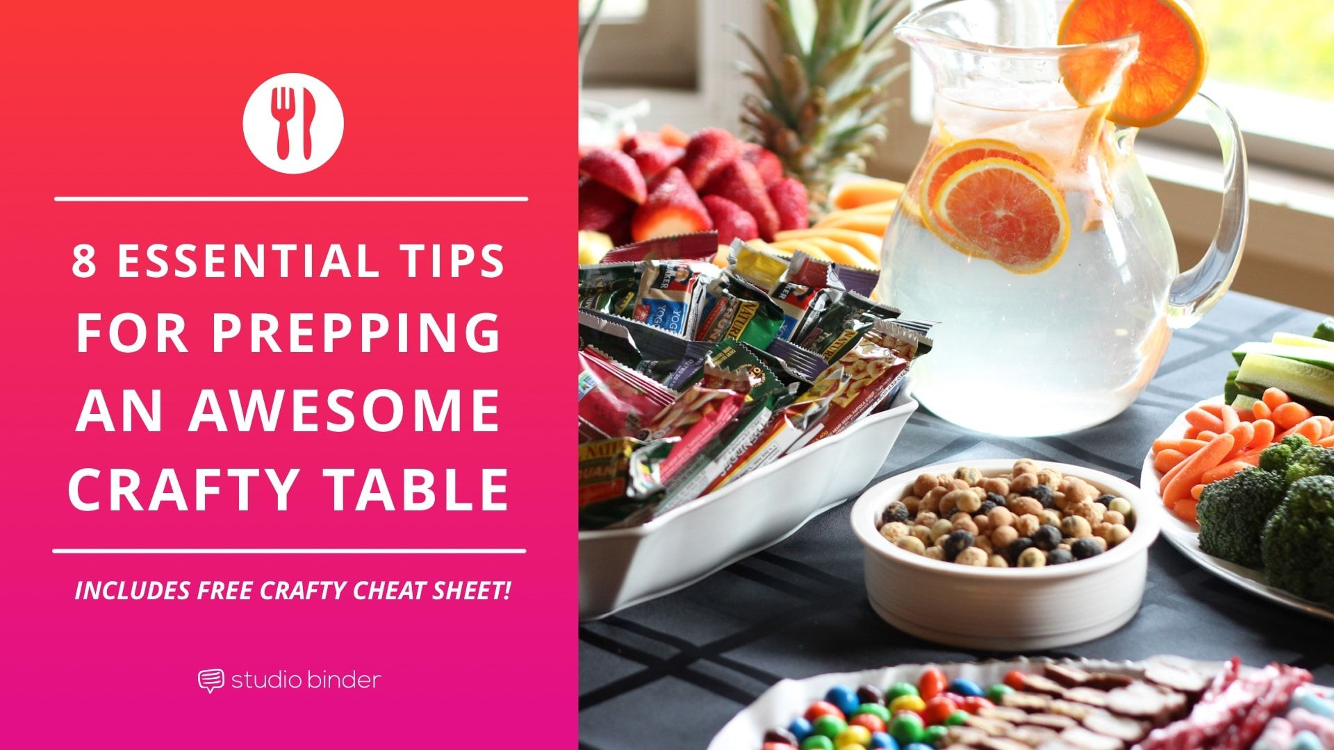 Dont Assemble Your Craft Services Table Without Following These Essential Rules Weve Also Included A Free Shopping List