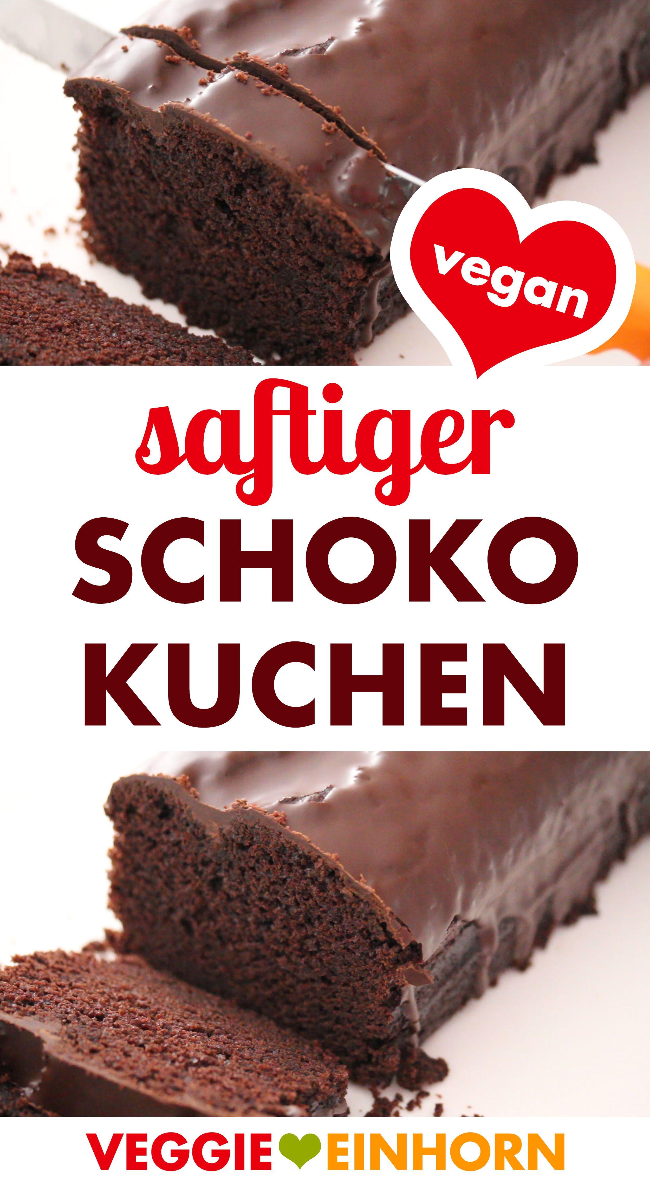 Photo of Saftiger veganer Schokokuchen | Einfaches Rezept für leckeren veganen Kuchen | Schokoladenkuchen bac