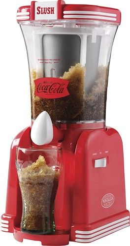 Nostalgia Electrics - Coca-Cola 32-Oz. Slush Drink Maker - Red - Larger Front