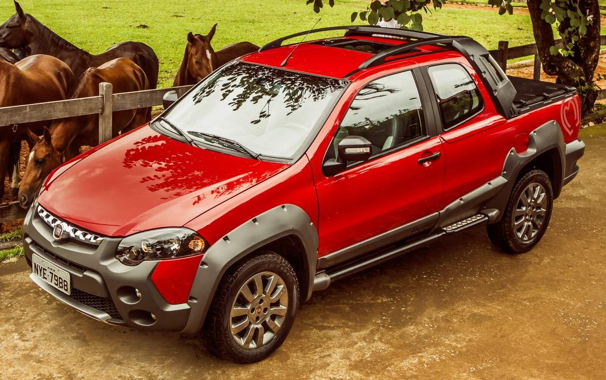 fiat strada adventure cabine dupla | the cars - pick up