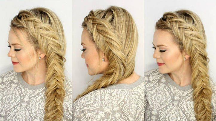 Balık Kuyruğu Fransız Saç Modeli Bayan Saç Modelleri