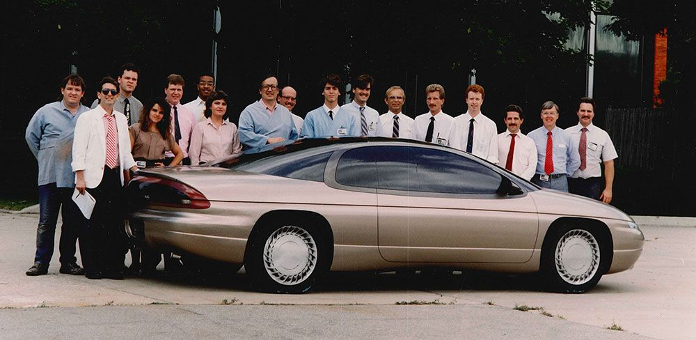 Og 1994 Chevrolet Monte Carlo Full Size Clay Model With The
