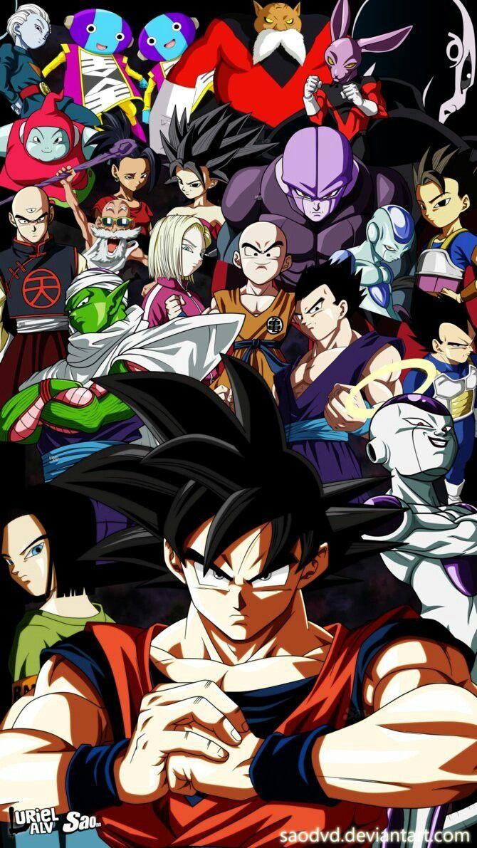 Catégorie:Personnages Dragon Ball Super | Wiki Dragon... | Fandom
