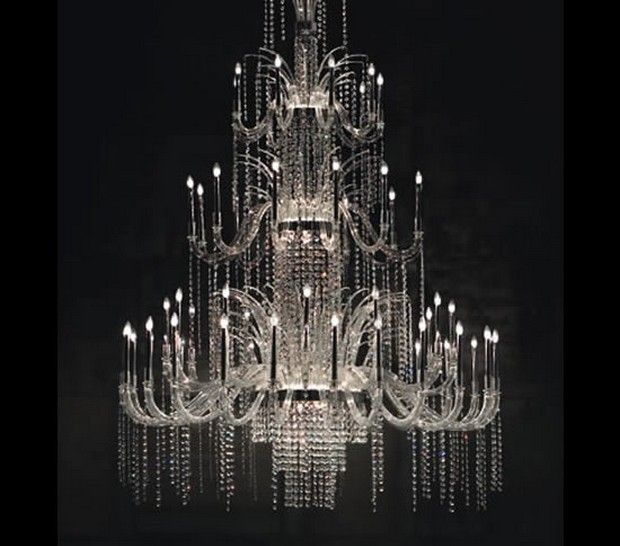 Exclusive Murano Chandeliers For An Out Of This World House