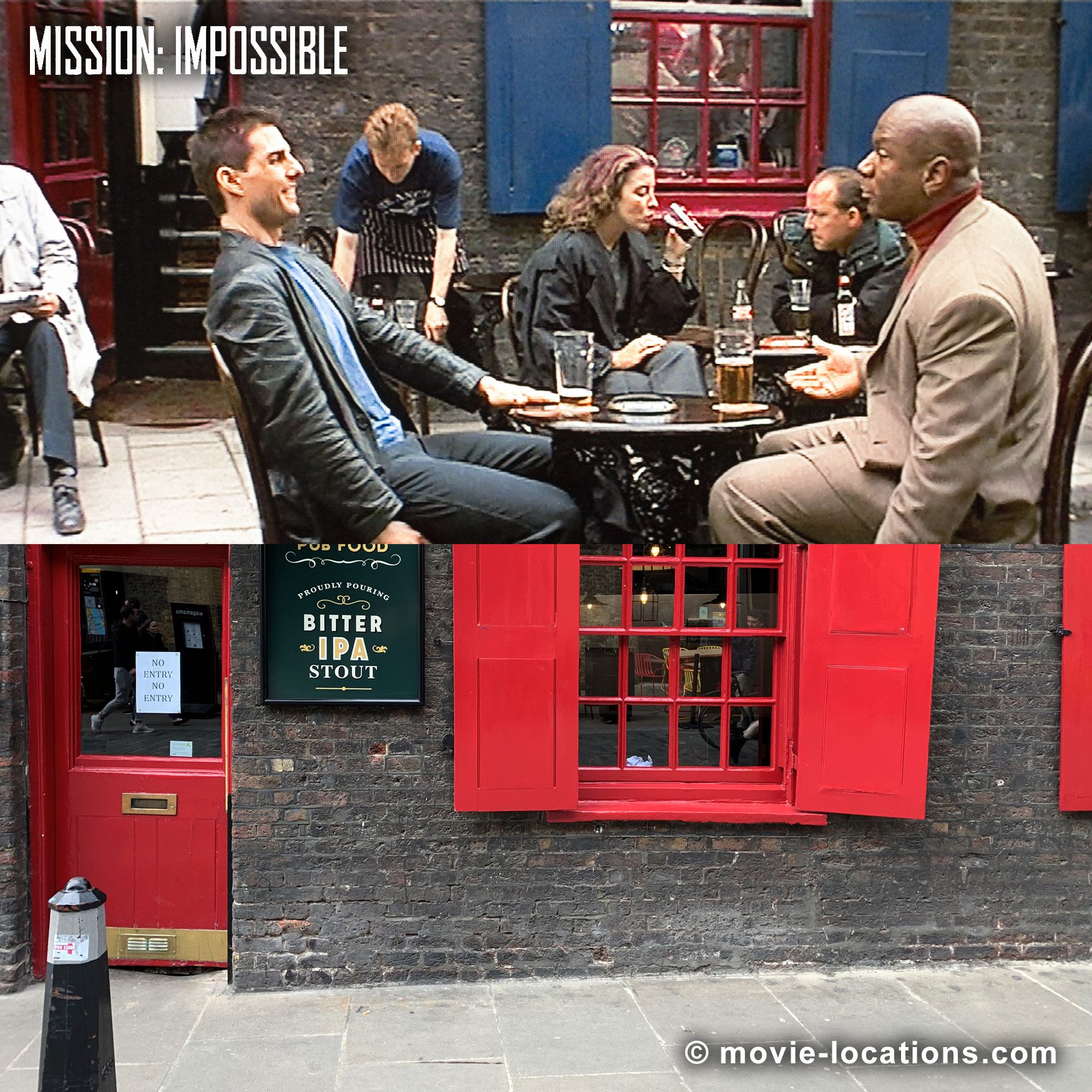 Mission Impossible 1996 Filming Locations Movie Locations Tom Cruise