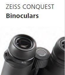 What a great way to enjoy the outdoors with a pair of high quality Zeiss Conquest HD binoculars!  The optics in this binocular series is so superb that you'll appreciate more the views and images in front of your eyes!