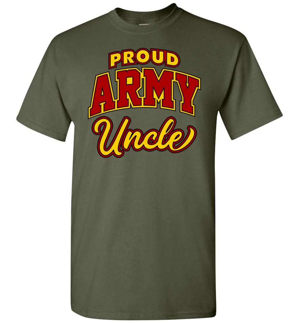 a7ef41b9 Proud Army Uncle T-Shirt | Products | Pinterest | Army, T shirt and ...