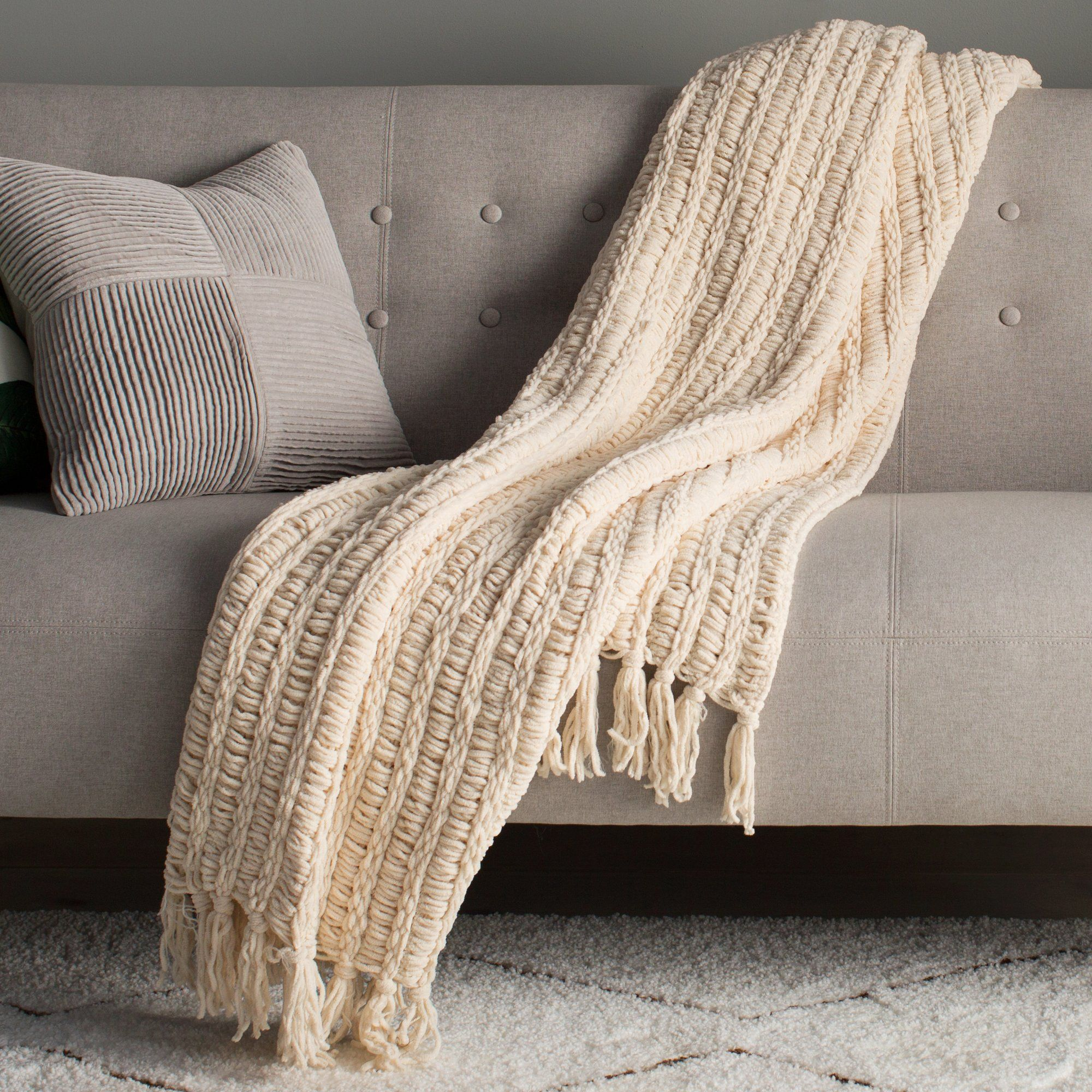 Throw Blankets Gorgeous Luxury Chenille Throw Blanket  440 Renovation  Pinterest  Blanket