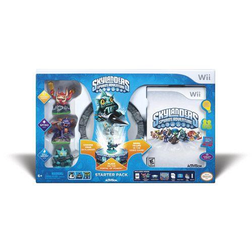 Skylanders Spyro's Adventure starter pack- Ryan's 6th bday