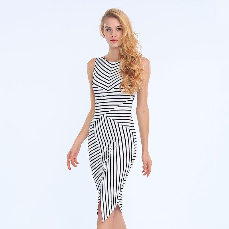 c6f2c8609e39a70 одежда платья в полоску интересные модели фото - Поиск в Google Дневные  Платья, Короткие Платья