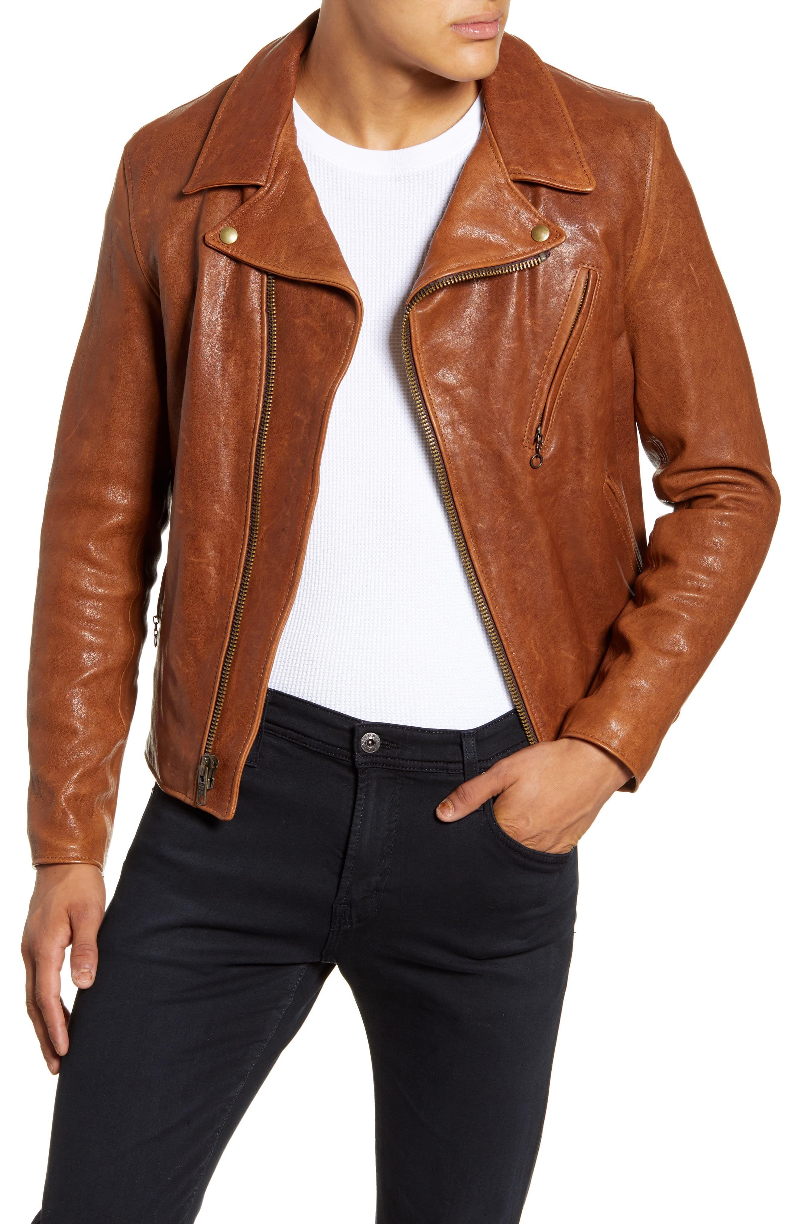 Schott Nyc Leather Moto Jacket Nordstrom In 2021 Leather Jacket Outfit Men Leather Jacket Men Leather Jacket Style [ 4048 x 2640 Pixel ]