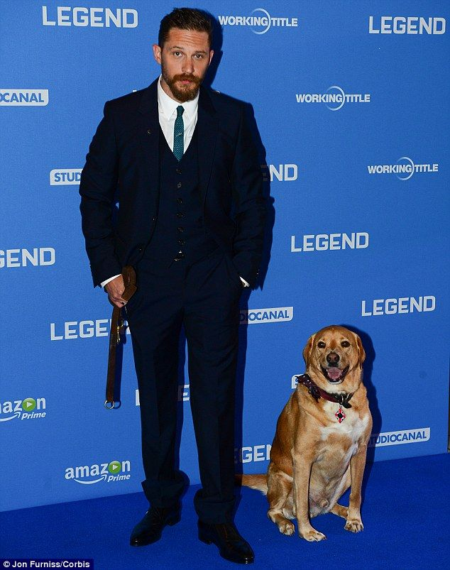 Is Tom Hardy Hollywood S Biggest Animal Lover Tom Hardy Tom Hardy Dog Toms